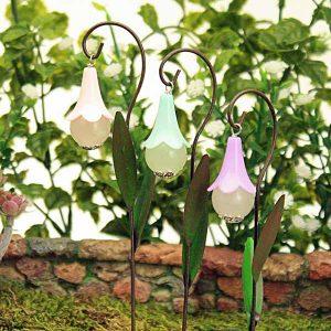 Pastel Flower Head Lantern