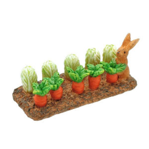 Vegetable Patch with Bunny