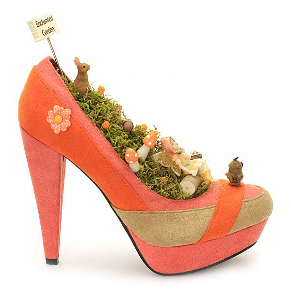Enchanted Shoe Garden