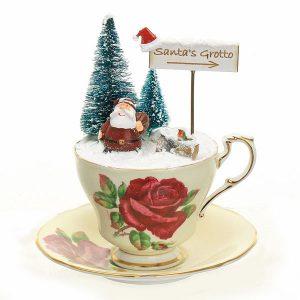 Vintage Santa's Grotto Teacup