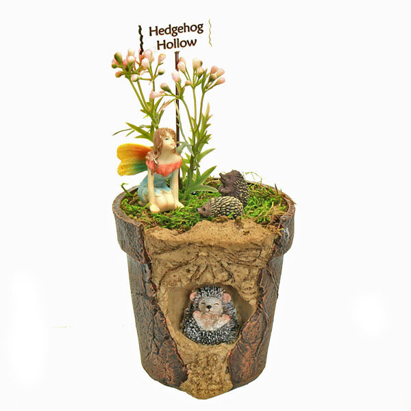 Hedgehog Hollow Fairy Garden