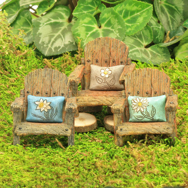 Garden Chair with Pillow