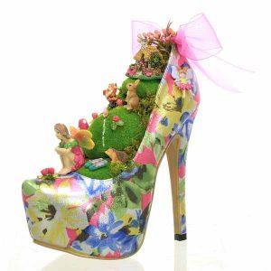 Pink Fairy Garden Shoe
