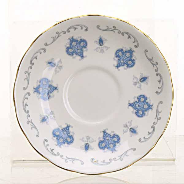 Vintage Blue Flower Teacup Garden