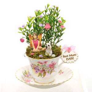 Vintage Teacup Best Mum