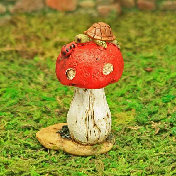 Tortoise & Mushroom
