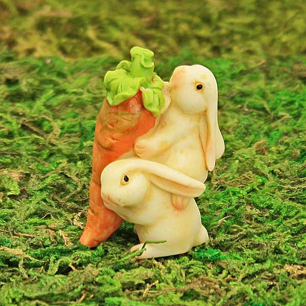 Piggy-Back Bunnies with Carrot