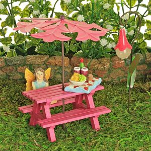 Fuchsia Picnic Bench Collection