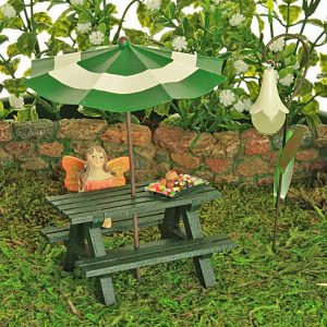 Forest Green Picnic Bench