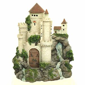 Fairy Castle with Waterfall