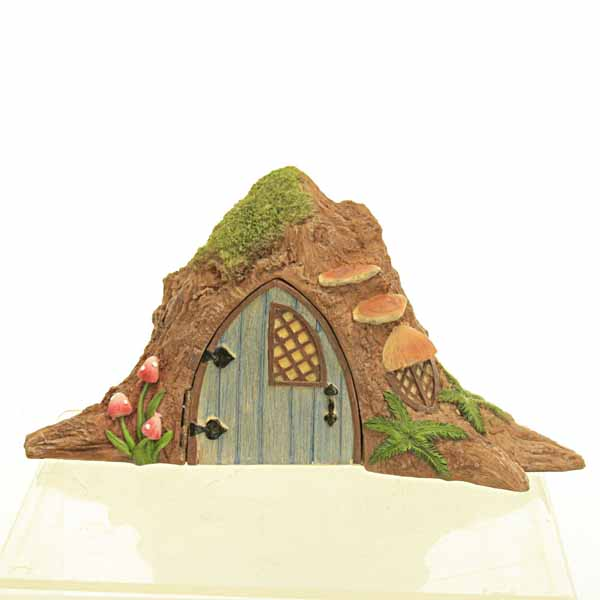 Tree Trunk Fairy House