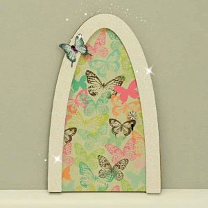 Fairy doors fairy windows fairy garden doors handmade for Tinkerbell fairy door
