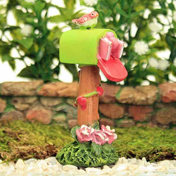 Pink & Green Mailbox