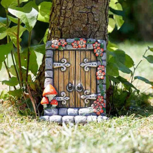 Wood Effect Fairy Door