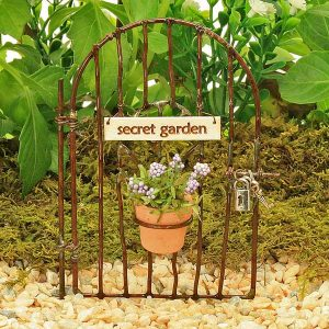 Secret Garden Wire Gate