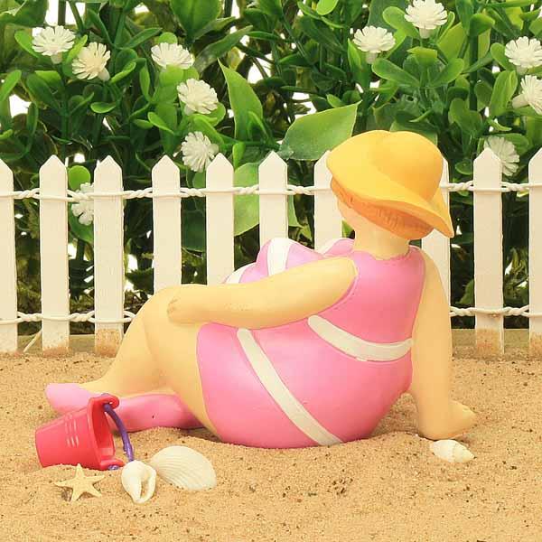 Bathing Beauties - Large pink
