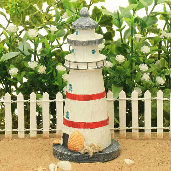 Traditional Lighthouse - Red