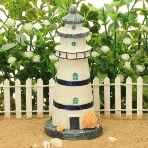 Traditional Lighthouse - Navy