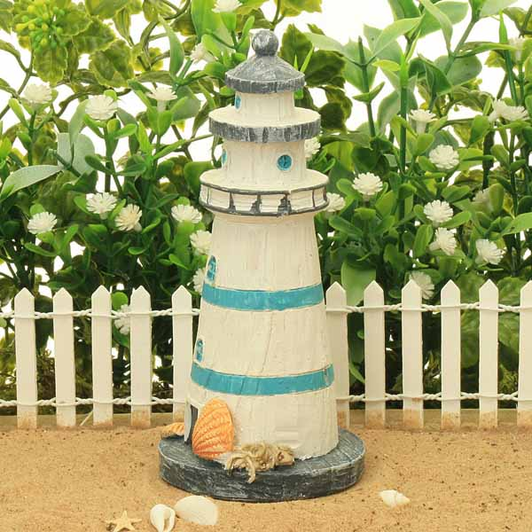 Traditional Lighthouse - Light Blue