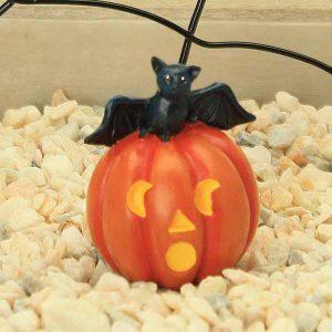 Halloween Pumpkin and Bat