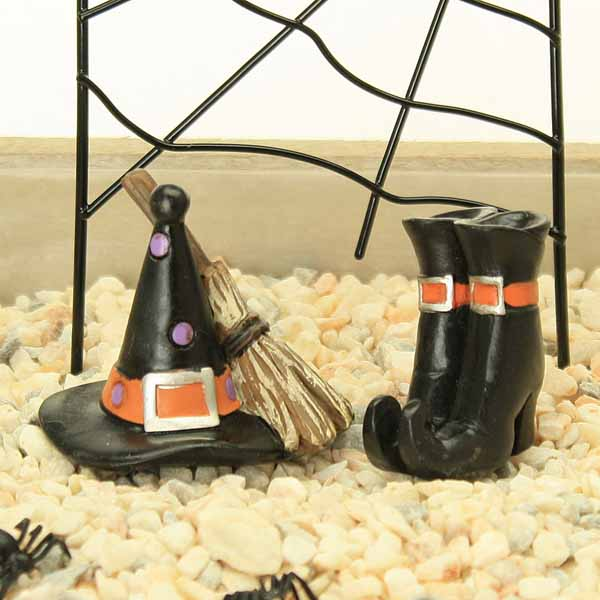 Witches Hat, Broom, Boots