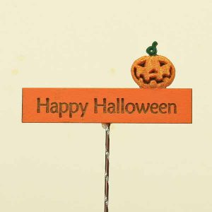 Happy Halloween Sign/Pumpkin