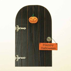 Halloween Door/Black/Pumpkin