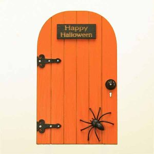 Happy Halloween Spider Door