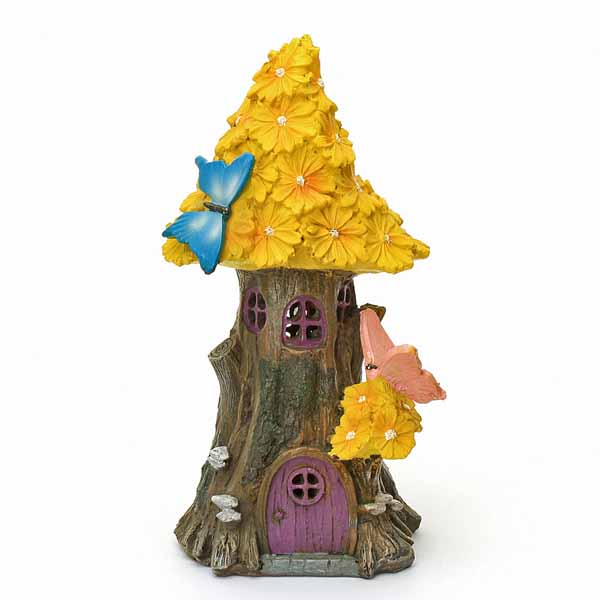 Yellow Flower Tree House