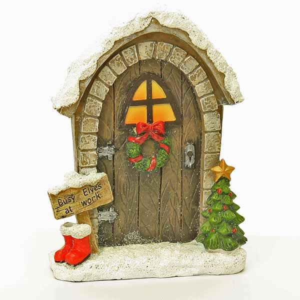 Elve's at Work Fairy Door