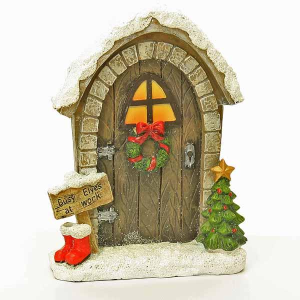 Fairy doors fairy windows fairy garden doors handmade for Works elf door
