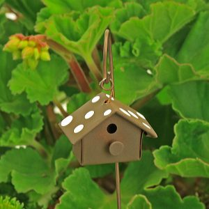 Polka Dot Bird House