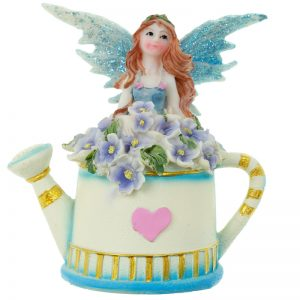 Blue Flower Fairy and Watering Can