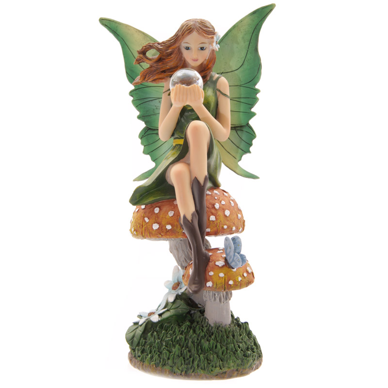 LP Fairy with Gazing Ball