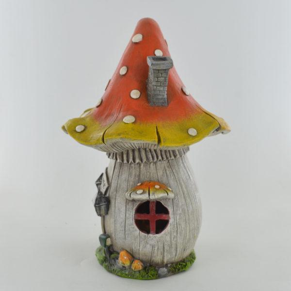Mushroom House with LED Lights
