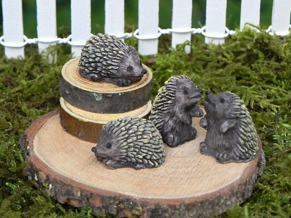 Whimsical Hedgehogs
