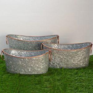 Oval Tub Planters