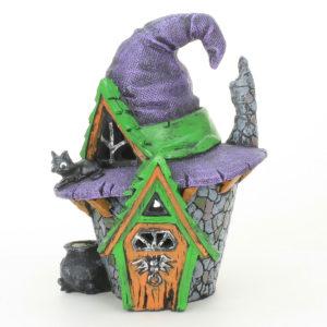 Spooky Halloween Fairy House