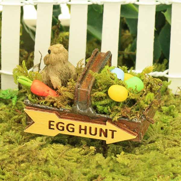 Easter Garden Trug