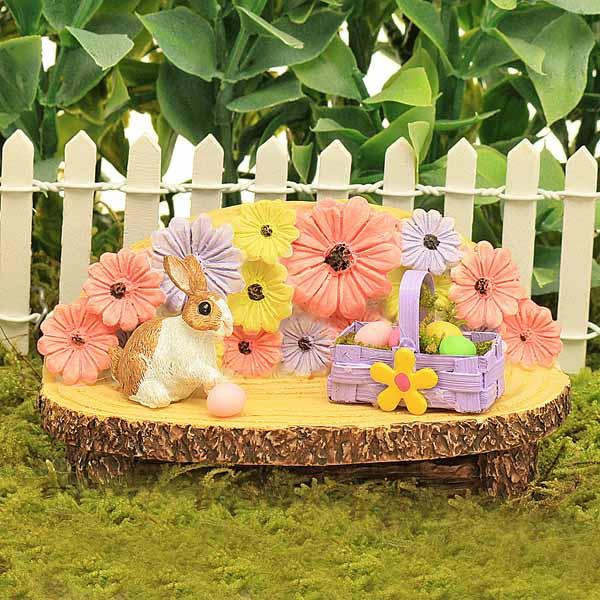 Easter Garden Bench