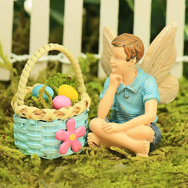 Easter Boy Fairy & Basket