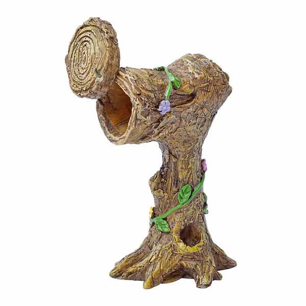 tree stump mailbox