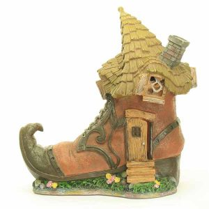 Shoe Fairy House Solar