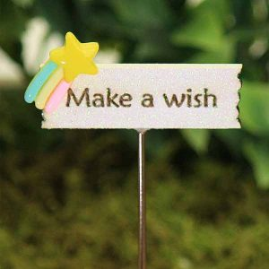 Make A Wish Rainbow Sign