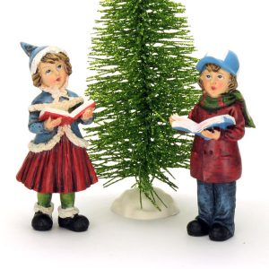Carol Singing Children