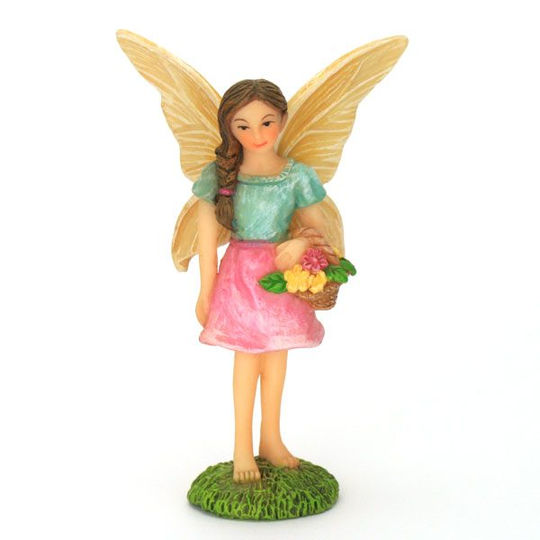 Standing Fairy with Basket