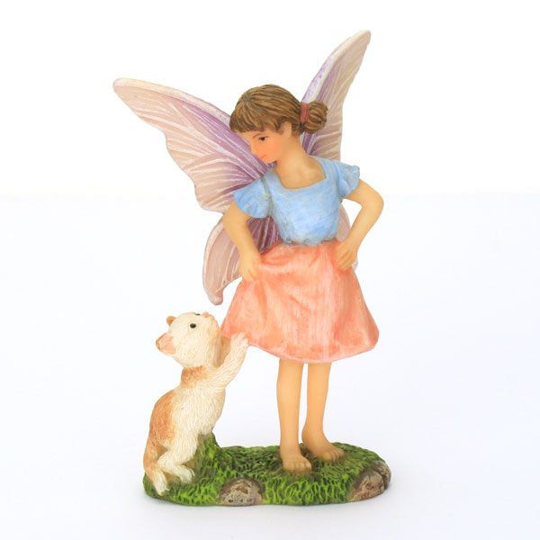 Standing Fairy with Cat