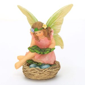 Fairy with Birds Nest