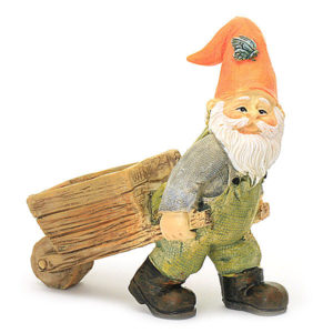 Gnome with Wheelbarrow