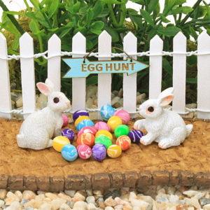 Egg Hunt and Bunnies